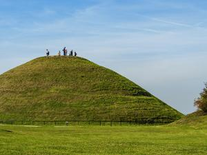 Krakus Mound, Podgorze District, Cracow, Lesser Poland Voivodeship, Poland, Europe by Karol Kozlowski