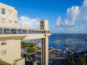 Lacerda Elevator, Salvador, State of Bahia, Brazil, South America by Karol Kozlowski