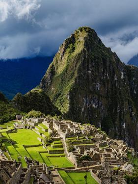 Machu Picchu Ruins, UNESCO World Heritage Site, Cusco Region, Peru, South America by Karol Kozlowski