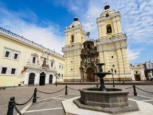 Monastery of San Francisco, Old Town,UNESCO World Heritage Site, Lima, Peru, South America by Karol Kozlowski