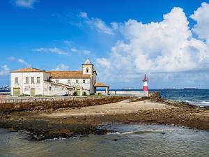Nossa Senhora de Monte Serrat Church and Monastery, Salvador, State of Bahia, Brazil, South America by Karol Kozlowski