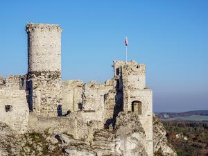 Ogrodzieniec Castle, Trail of Eagles' Nests, Krakow-Czestochowa Upland (Polish Jura), Poland by Karol Kozlowski