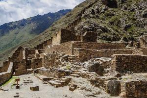 Ollantaytambo Ruins, Sacred Valley, Cusco Region, Peru, South America by Karol Kozlowski