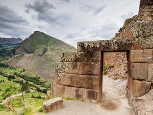 Pisac Ruins, Sacred Valley, Cusco Region, Peru, South America by Karol Kozlowski