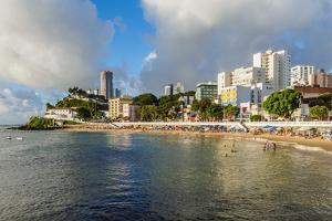 Porto da Barra Beach, Salvador, State of Bahia, Brazil, South America by Karol Kozlowski