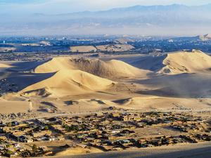 Sand dunes of Ica Desert near Huacachina, Ica Region, Peru, South America by Karol Kozlowski