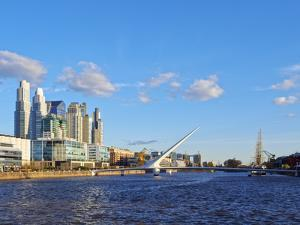 View of Puerto Madero, City of Buenos  Aires, Buenos Aires Province, Argentina, South America by Karol Kozlowski