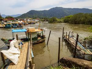 View of the Ilha dos Pescadores, Ubatuba, State of Sao Paulo, Brazil, South America by Karol Kozlowski