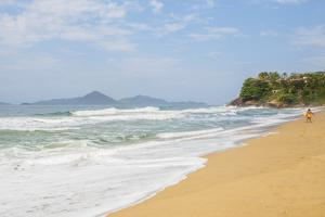 View of the Praia Vermelha, Ubatuba, State of Sao Paulo, Brazil, South America by Karol Kozlowski