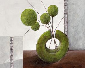 Arrangement in Green I by Karsten Kirchner