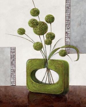 Arrangement in Green II by Karsten Kirchner