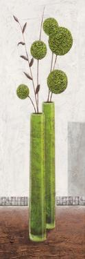 Graceful Green Balloons by Karsten Kirchner