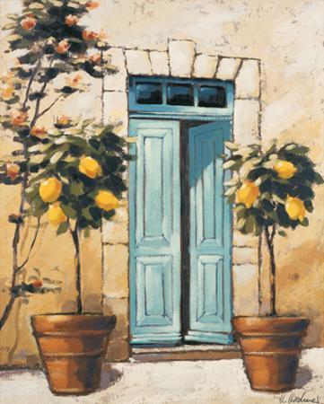 Villa Medici Side Door by Karsten Kirchner