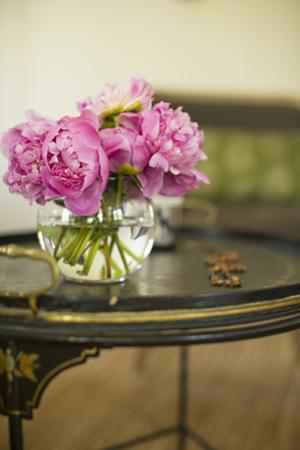 Peonies in the Parlor by Karyn Millet