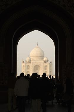 Taj Mahal II by Karyn Millet