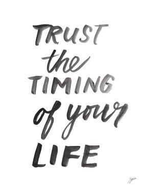Trust the Timing by Karyn Panganiban