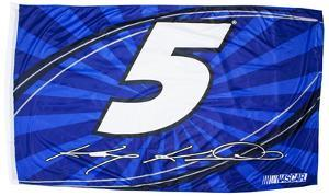 Kasey Kahne One-Sided Flag with Number