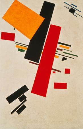 Dynamic Suprematism, 1916 by Kasimir Malevich