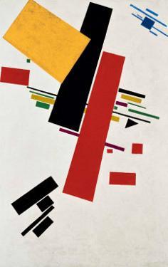 Dynamischer Suprematismus Nr. 57, c.1916 by Kasimir Malevich