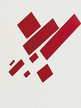 Eight Red Rectangles by Kasimir Malevich