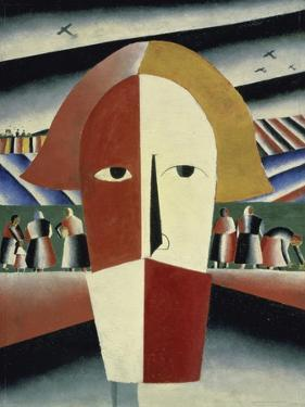 Peasant's Head, c.1928-1932 by Kasimir Malevich