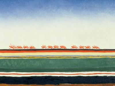 Red Cavalry, 1928-32 by Kasimir Malevich