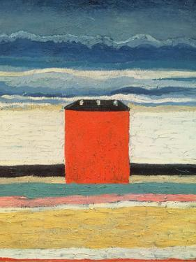 Red House, 1932 by Kasimir Malevich