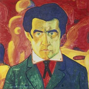 Self Portrait, 1908 by Kasimir Malevich