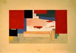 Suprematism, 1919 by Kasimir Malevich