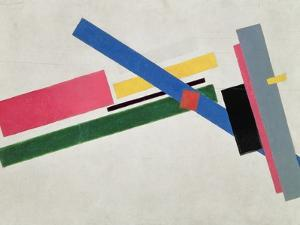 Suprematist Construction by Kasimir Malevich