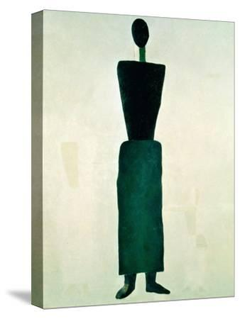 Suprematist Female Figure, 1928-32 by Kasimir Malevich