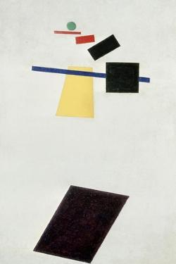 The Football Game, after 1914 by Kasimir Malevich
