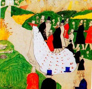 The Wedding, 1907 by Kasimir Malevich