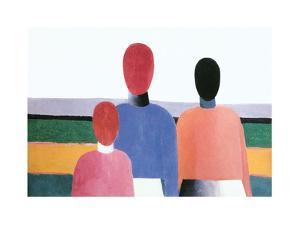 Three Female Figure, 1928/32 by Kasimir Malevich