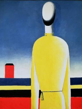 Torso in a Yellow Shirt, 1928-32 by Kasimir Malevich