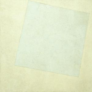 Suprematist Composition. White on White, 1918 by Kasimir Severinovich Malevich