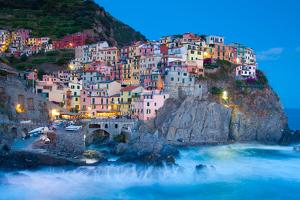 Manarola Fisherman Village in Cinque Terre, Italy by kasto
