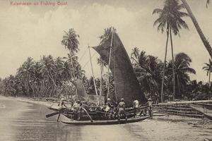Katamaran or Fishing Boat