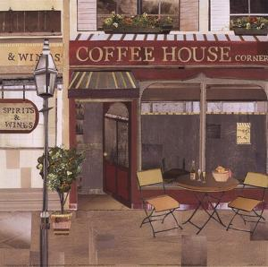 Coffee House Corner by Kate and Liz Pope