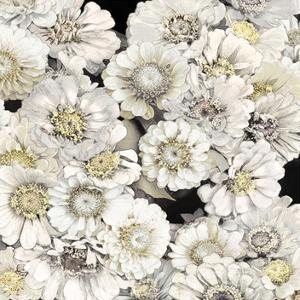 Floral Abundance in Ivory by Kate Bennett
