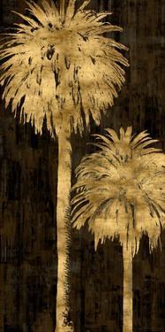 Golden Palms Panel I by Kate Bennett
