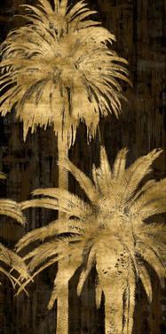 Golden Palms Panel II by Kate Bennett