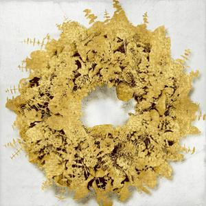 Golden Wreath III by Kate Bennett