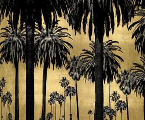 Palms on Gold by Kate Bennett