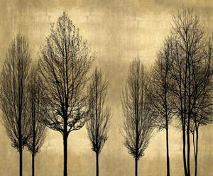 Trees on Gold by Kate Bennett