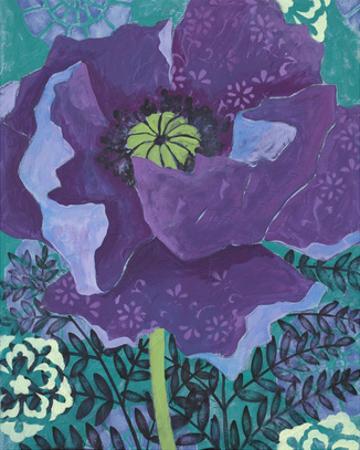 Poppy in Violet