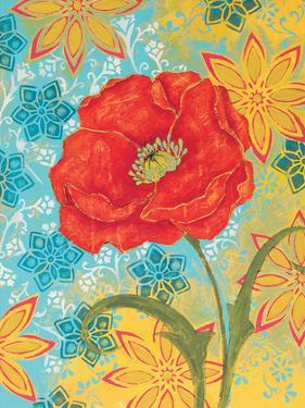 Sunset Poppy by Kate Birch
