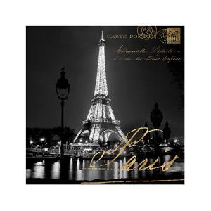 Paris At Night by Kate Carrigan