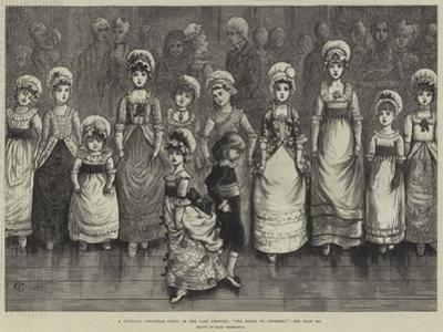 A Juvenile Christmas Party in the Last Century, Sir Roger De Coverley