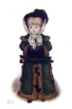 Christmas Cards' by Kate Greenaway by Kate Greenaway